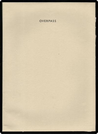 : Kat Ran Press, 2001. Folio (35.8 cm, 14.2