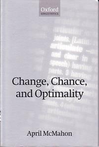 image of Change, chance, and optimality. (Oxford linguistics)