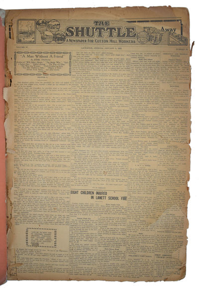 The Shuttle: A Newspaper for Cotton...