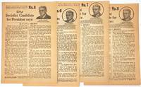 image of The Socialist candidate for president says... [leaflets 5, 6, 7, and 8]