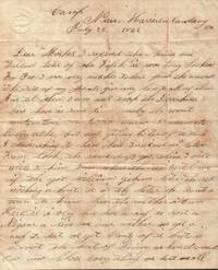 Letter by a Private in the Union Army, Harrison's Landing, Virginia
