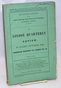 image of The London Quarterly Review. Volume LXXXVII. July-October, 1850. American Edition - Vol. XXXIV. No. II