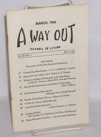 A way out. March 1964, vol. 20, no. 3
