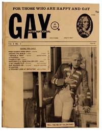 Gay International. Vol. 2 No. 1, April 1965