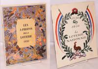 image of La loterie nationale 1536-1936; historique_apercu actuel de la loterie nationale. Ouvrage orme de nombreuses gravures, precede d'un avant-propos et de trois prefaces. [with] Les a-propos de la loterie [2 items together]
