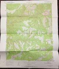 image of Onion Valley quadrangle, California: 7.5 minute series (topographic) [map]