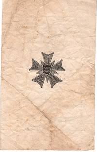 Yale Kappa Sigma Epsilon Leaflet, Civil War Period, c 1864