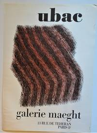 UBAC, Galerie Maeght (Lithograph Poster)