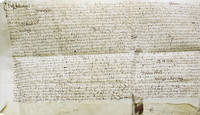 Manuscript indenture between Henry Reade, Mary Reade and Alice Winghame