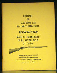 Sequence of Take-down and Assembly Operations Winchester Model 61 Hammerless Slide Action Rifle 22 Caliber