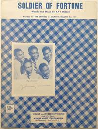 """Signed Sheet Music -- """"Soldier of Fortune"""