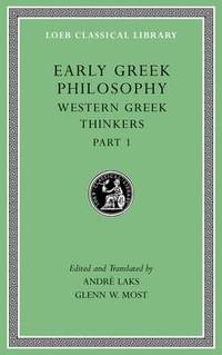 Early Greek Philosophy, Volume Iv: Sophists