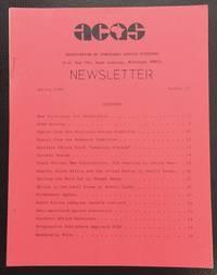 ACAS Newsletter. No. 12 (Spring 1984)