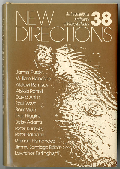 : New Directions, 1979. 184pp. Cloth. First edition, clothbound issue. About fine in very good, but ...