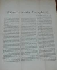 BLAIRSVILLE JUNCTION, PENNSYLVANIA