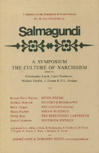 Salmagundi: A Symposium, The Culture of Narcissism