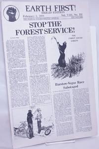 image of Earth First! Brigid Edition, The radical environmental journal; Feb 2, 1988 Vol. 8, No. 3