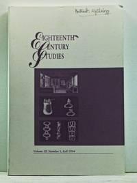 Eighteenth-Century Studies, Volume 28, Number 1 (Fall 1994). Eighteenth-Century Culture and the Disciplines