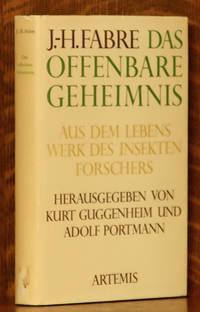 image of DAS OFFENBARE GEHEIMNIS - AUS DEM LEBENSWERK DES INSEKTENFORSCHERS
