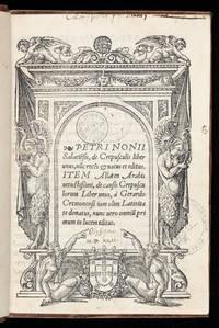 De Crepusculis liber unus, nunc recens & natus et editus.  Item Allacen Arabis vetustissimi,...