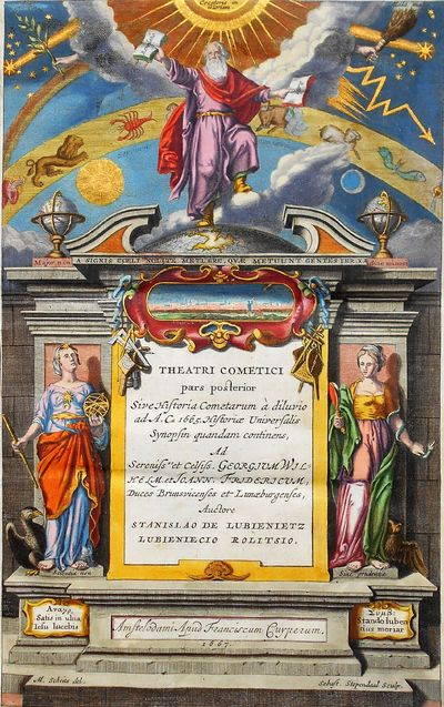 Historia Cometarum, a Diluvio usque...