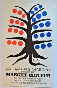 La Galerie Maeght Presente MAEGHT EDITEUR (Lithograph Exhibition Poster)
