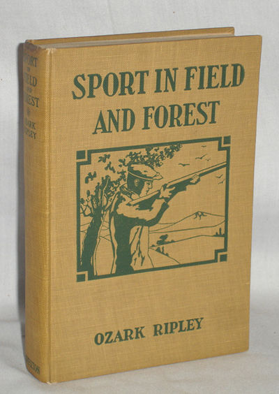New York: D. Appleton and Co, 1926. First Edition. Octavo. 180 pp. Written by a sportsman, this book...