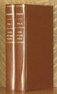 THE LIVES OF THE MOST EMINENT ENGLISH POETS: WITH CRITICAL OBSERVATIONS ON THEIR WORKS (2 VOL SET - COMPLETE)