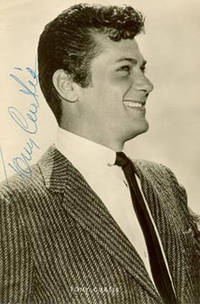 image of Photograph of Tony Curtis. Signed