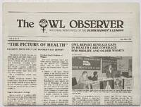 image of The Owl Observer: National newspaper of the Older Women's League. Vol. 6 no. 3 (May/June 1987)