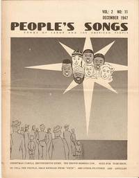 PEOPLE'S SONGS,  Vol. 2,  No. 11,  December 1947.; Songs of Labor and the American People by Seeger, Pete and others - 1947