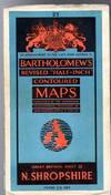 "Bartholomew's Revised ""Half-Inch"" Contoured Maps - Great Britain, Sheet 50 Arisaig and Lochaber"