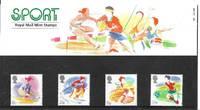 image of Great Britain # 1209-1212 MNH SPORT - Prestige Pack Set