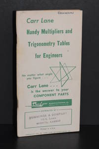 image of Handy Multipliers and Trigonometry Tables for Engineers
