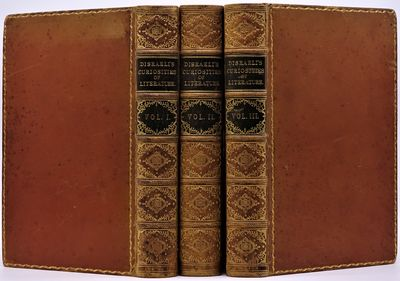 London: Edward Moxon, 1849. Three volumes finely bound in contemporary polished calf, black morocco ...