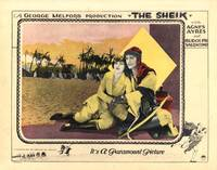 RUDOLPH VALENTINO / THE SHEIK (1921)