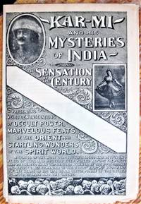 image of Kar-Mi and His Mysteries of India. The Sensation of the Century
