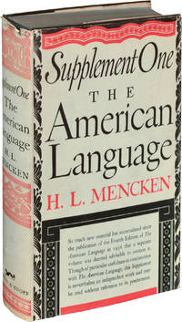 image of The American Language, Supplements One and Two (Hardcover, two volumes)