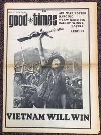 image of San Francisco Good Times: vol.5, #9,  April 21 to May 4 1972