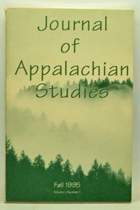 Journal of Appalachian Studies, Volume 1, Number 1 (Fall 1995)