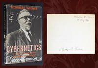 Cybernetics: Or Control and Communication... (SIGNED by Norbert Wiener)