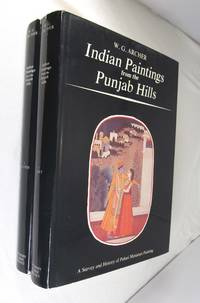 Indian paintings from the Punjab Hills;: A survey and history of Pahari miniature painting,  2 Volumes