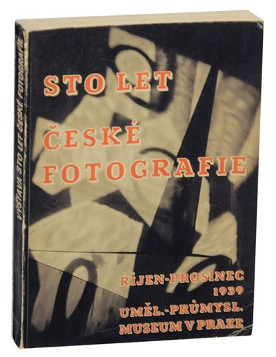 Prague: Umelecko-Prumyslove Museum, 1939. First edition. Softcover. 175 pages. Published to celebrat...