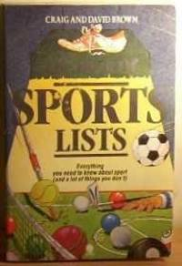 THE BOOK OF SPORTS LISTS