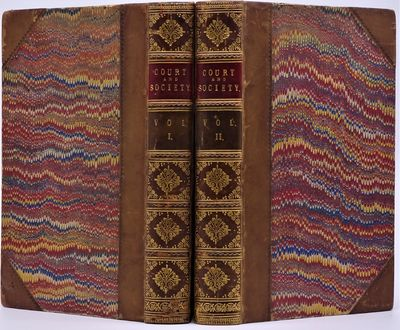 London: Hurst & Blackett, Publishers , 1864. Two volumes finely bound in contemporary half polished ...