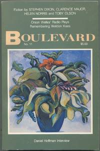 Boulevard: Fall 1989, Volume 4, Number 2 [No. 11]