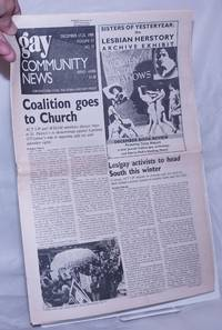 image of GCN: Gay Community News; the weekly for lesbians and gay males; vol. 17, #23, December 17-23, 1989;Coalition goes to Church