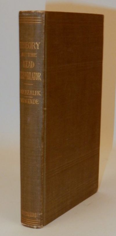 New York: John Wiley & Sons, 1904. First Edition. Cloth. Very Good. First Edition. xi, 241 pages + 1...