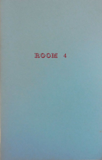 Mamaroneck: Room Press, 1989. First edition. Paperback. Very Good. Stapled wrappers. Fourth issue of...
