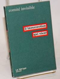 image of L'insurrection qui vient